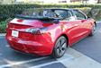 Deze Tesla Model 3 Cabrio bestaat echt. Sorry #6