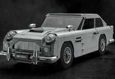De Lego Creator Expert-catalogus is een Aston Martin rijker. Het gaat om de door Q onder handen genomen DB5 waarmee James Bond reed in Goldfinger.