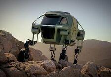 Hyundai heeft goed naar Star Wars gekeken. De Walking Car Concept Elevate doet immers sterk aan de AT-AT denken, de All Terrain Armored Transport uit The Empire Strikes Back.