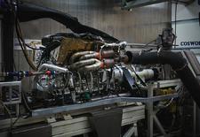 Aston Martin en Cosworth zijn zowat klaar met de atmosferische V12 voor de Valkyrie. Het hart van de hybride hypercar draait 11.100 toeren per minuut.