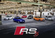 Het verhaal begon in 1994 met RS 2 Avant, ontwikkeld in samenwerking met Porsche. Intussen maakt Audi als 25 jaar RS-versies. Een overzicht van alle modellen die intussen de revue passeerden. Bekijk de video!