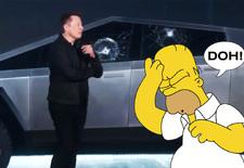 De lancering van de Tesla Cybertruck ging niet helemaal zoals topman Elon Musk het gepland had. Bekijk de video!
