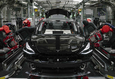 Time-lapsevideo reduceert productietijd van de Tesla Model 3 tot amper 48 seconden. Bekijk de video.
