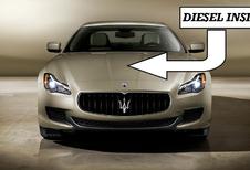 Jawel, ook Maserati Quattroporte aan de diesel