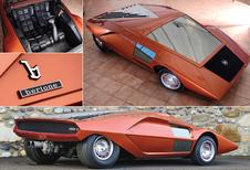 SOLDEN BIJ BERTONE: Lancia Stratos Zero onder de hamer
