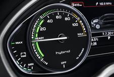 STROOMVERDELER: Audi A8 Hybrid