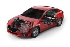 Mazda 3 ook hybride en op gas