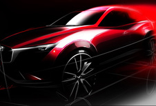 Mazda brengt ook compacte en sportieve CX-3
