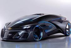 Chevrolet FNR is autonoom rijdende BMW i8-rivaal