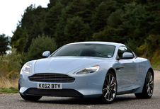 Aston Martin DB9 Coupe Touchtronic Carbon Black
