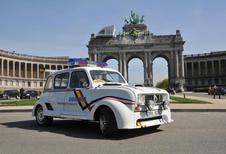 Exposition Renault 4 à Autoworld