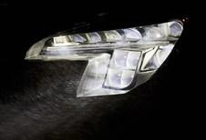 Éclairage à rampe matricielle Opel