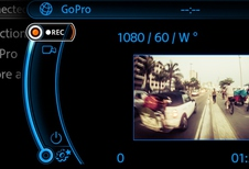 Mini stuurt GoPro aan