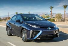 Toyota Mirai au plein d'hydrogène