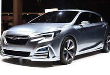 Subaru Impreza 5-portes Concept : 5e génération