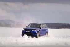 Range Rover Sport SVR : tout en glisse avec l'explorateur Ben Saunders