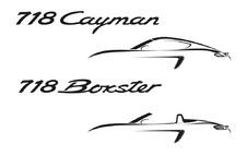 Nieuwe 718-naam en viercilinders voor Porsche Boxster en Cayman