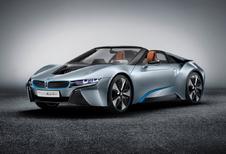 BMW i8 Spyder, X7 et Mini Hybride à venir