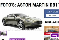 Aston Martin DB11: is dit de definitieve neus?