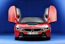 Waarom zet BMW deze i8 in de bloedrode lak?
