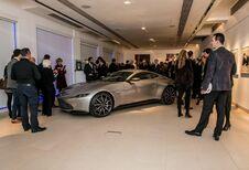 Aston Martin DB10 van James Bond geveild voor 3,13 miljoen euro