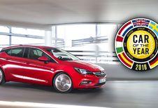 Opel Astra verkozen tot Auto van het Jaar 2016