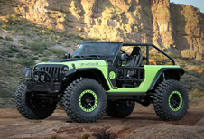 Jeep met... zeven nieuwe concepts naar Easter Safari