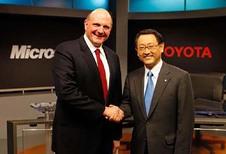 Toyota et Microsoft s'allient