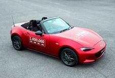 Mazda MX-5: 1 miljoen exemplaren