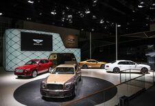 Bentley pavoise en Chine