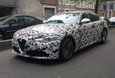 Alfa Romeo Giulia: gespot in Luik en meer details