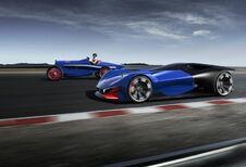 Peugeot L500 R HYbrid: virtuele conceptcar