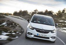 Opel Zafira : facelift et connectivité