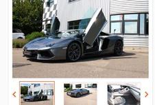 La Lamborghini Aventador de Sébastien Loeb à vendre !