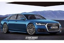 Future Audi A8 : comme ça ?