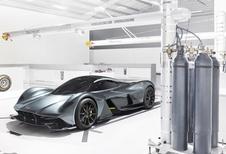 AM RB-001: de hypercar van Aston Martin en Red Bull