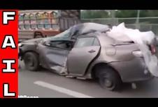 Toyota : même détruite, elle roule encore