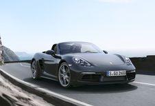 Porsche 718 Boxster en Cayman: zescilinder-boxer voor radicale versies