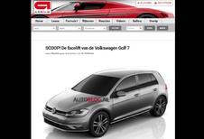 Volkswagen Golf 7: hier is de facelift
