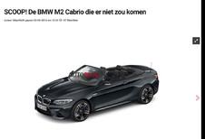 BMW M2 : il y aura un cabriolet !