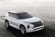 Mitsubishi met stoere en 'groene' GT-PHEV Concept naar Parijs