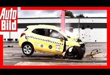 Crashtest met 80 km/h: dramatisch resultaat