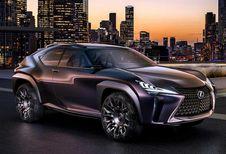 Lexus UX Concept: vervanger van CT200h
