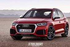 Audi Q5 : Comme ça la future RS ?