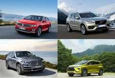 Alle SUV's voor 2017 en 2018