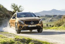 Mercedes GLA: facelift in Detroit