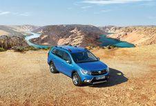 Dacia Logan MCV Stepway gaat in de modder spelen