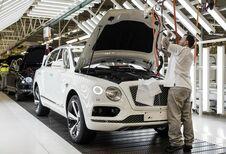 Bentley-productie in Engeland onzeker