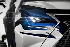 Lexus NX krijgt facelift met manga-trekjes