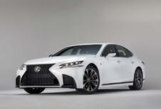Lexus LS F Sport: de details